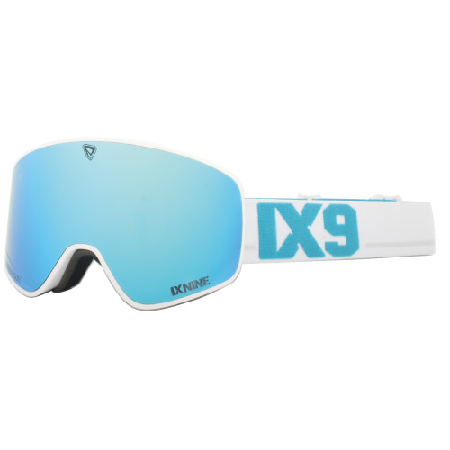 IXNINE, IX3, White Blue Polarized